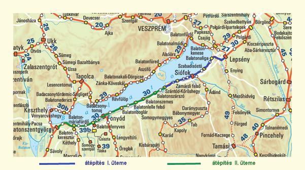 Vonalkorszerusites Lepseny Szantod Koroshegy Kozott